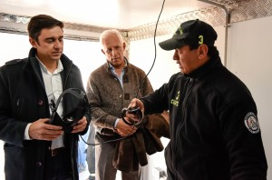 Bomberos Voluntarios cuenta con un Centro de Capacitación Virtual único en la región