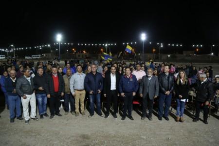 """Presencia del """"Yo Amo Mi Club"""" en Albardón"""