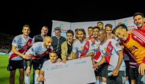 Copa Argentina: En el Estadio del Bicentenario River Plate clasificó para  jugar las semifinales