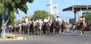 El fervor gaucho copó las calles en la Cabalgata en Honor al Gaucho José Dolores