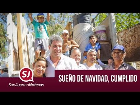 Sueño de Navidad, cumplido | #SanJuanEnNoticias