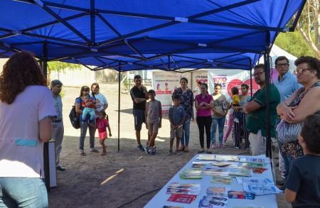 En el Centro de Salud El Rincón se realizó una jornada de Promoción de la Salud Integral de la Mujer y el Niño