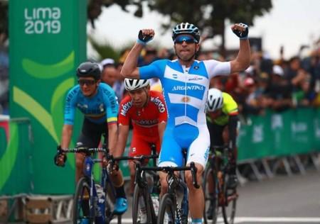 Juegos Panamericanos: tres sanjuaninos compitieron en las finales de ciclismo en ruta
