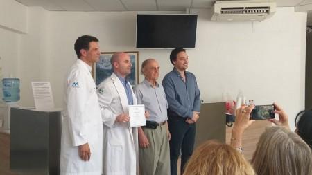 Un médico de Salud Pública se especializó en el área de medicina nuclear