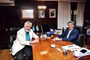 El gobernador Uñac se reunió con su par de San Luis, Alberto Rodríguez Saá