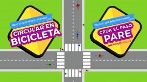 Lo que necesitás saber sobre circular en bici y las señales de Pare - Ceder el paso