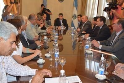 Primera reunión de Gabinete de Ministros