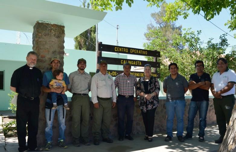 Ambiente inauguró un Centro Operativo en Calingasta
