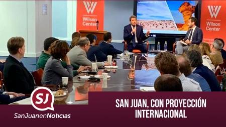 San Juan, con proyección internacional | #SanJuanEnNoticias